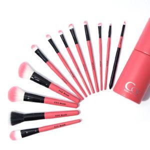 [CORINGCO] Pink in Pink Make up Brush 12P SET