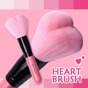 [Coringco] Lovely pink heart multi volume brush