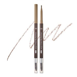 ETUDE HOUSE EYEBROWS DRAWING SLIM EYEBROW 1.5MM_SLIM #3 LIGHT BROWN