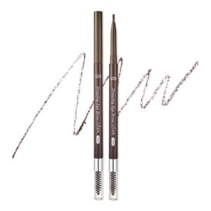 ETUDE HOUSE EYEBROWS DRAWING SLIM EYEBROW 1.5MM_SLIM #4 GRAY BROWN