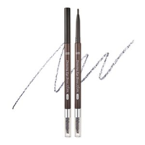 ETUDE HOUSE EYEBROWS DRAWING SLIM EYEBROW 1.5MM_SLIM #6 SOFT BLACK