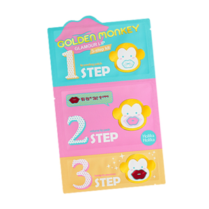 [Holika Holika] Golden Monkey Glamour Lip 3-Step Kit 1EA