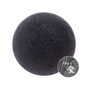 [MISSHA] Natural Soft Jelly Cleansing Puff #Charcoal
