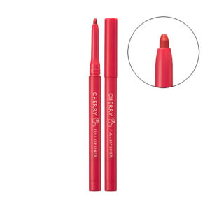 [Skinfood] Cherry Full Lip Liner #04 (Coral Cherry)