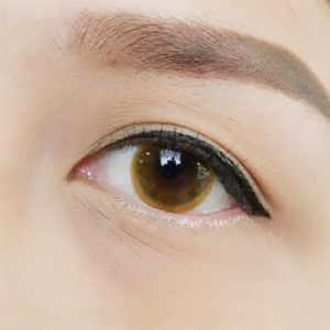 Contact Lens Vassen Cystian Brown Color Lens