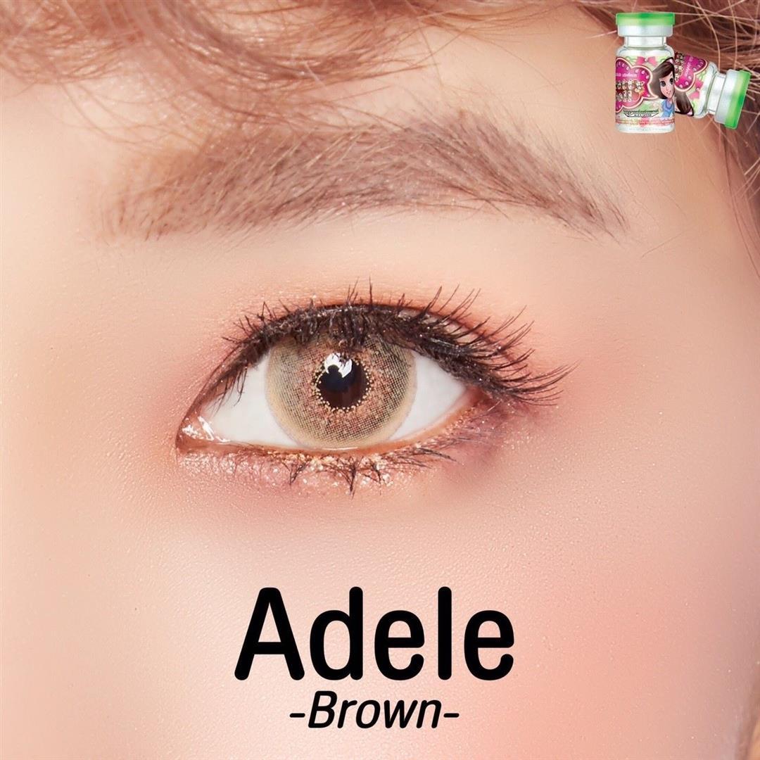 Contact Lens Dueba Adele Brown Color Lens Korean Lens Com
