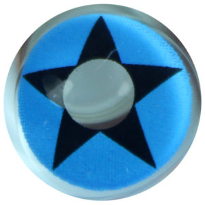 DUEBA COSPLAY LENS BLUE COWBOY STAR