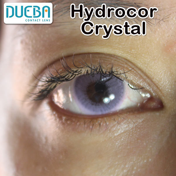 DUEBA HIDROCOR CRYSTAL PURPLE COLOR LENS