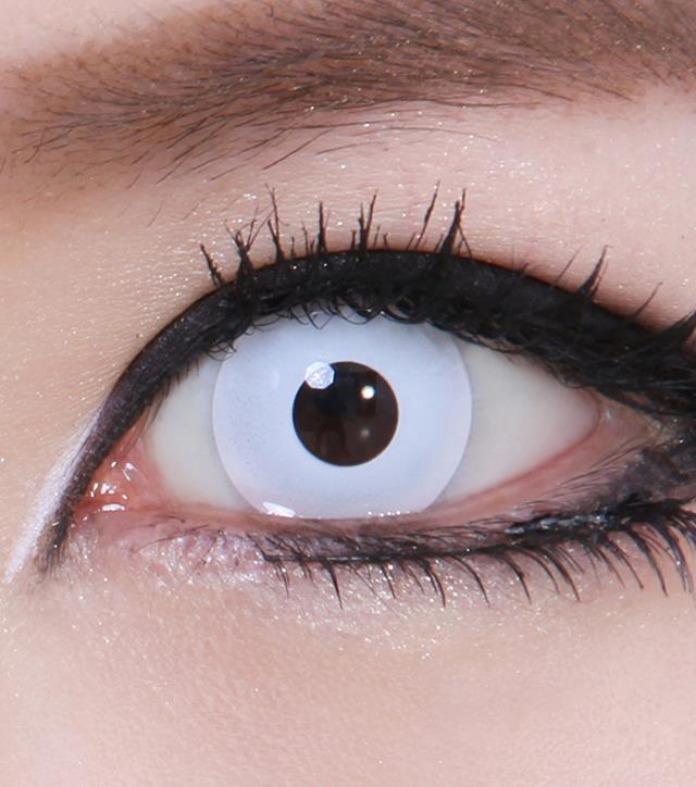 Как на сделать глаза без зрачков