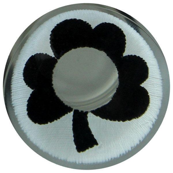 DUEBA COSPLAY LENS BLACK FLOWER WHITE HALLOWEEN COLOR LENS