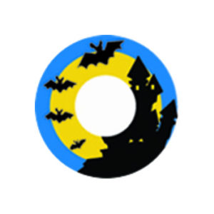 DUEBA COSPLAY LENS CASTLE HALLOWEEN COLOR LENS