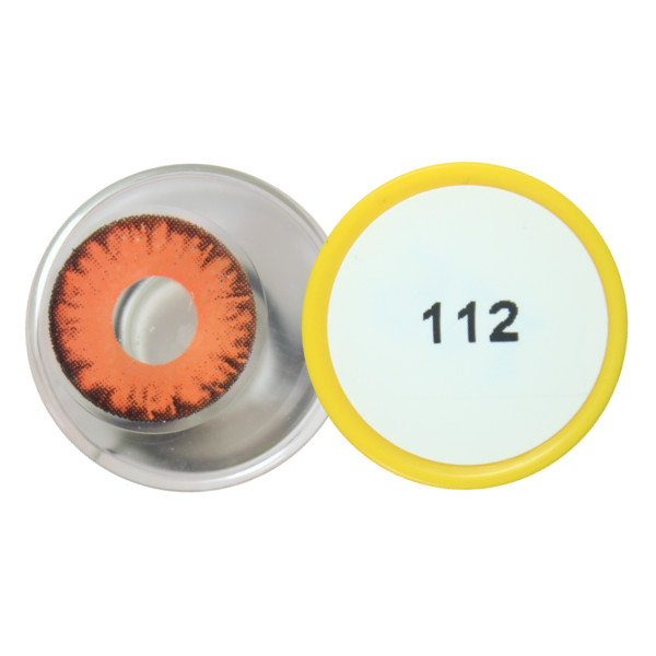 Contact lens dueba cosplay lens red monster eyes halloween for Monster contact
