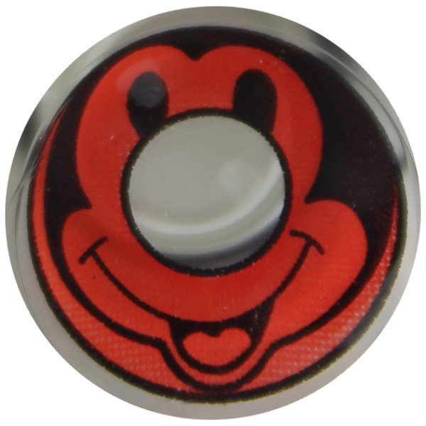 DUEBA COSPLAY LENS RED MICKY HALLOWEEN COLOR LENS