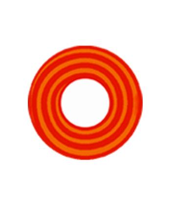DUEBA COSPLAY LENS ORANGE RED SPIRAL HALLOWEEN COLOR LENS