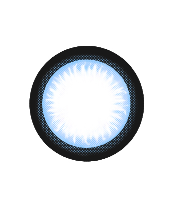DUEBA EYE CANDY BLUE COLOR LENS