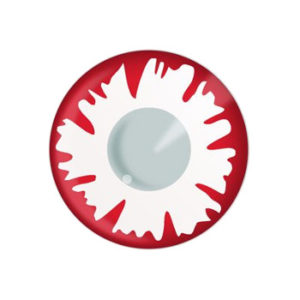 DUEBA FANCY WHITE DEMON HALLOWEEN COLOR LENS