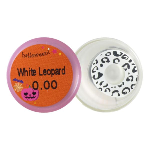 DUEBA FANCY WHITE LEOPARD HALLOWEEN COLOR LENS