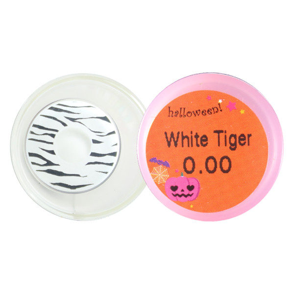 DUEBA FANCY WHITE TIGER HALLOWEEN COLOR LENS