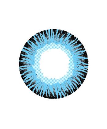 DUEBA GLAMOUROUS BLUE COLOR LENS