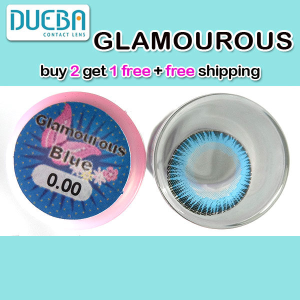 DUEBA GLAMOUROUS BLUE COLOR LENS