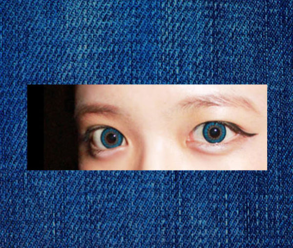 DUEBA NATURAL BLUE COLOR LENS