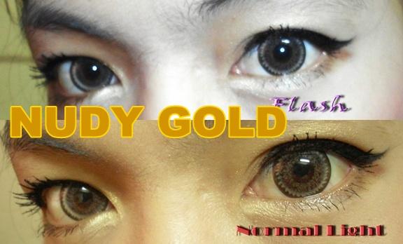 DUEBA NUDY GOLD COLOR LENS
