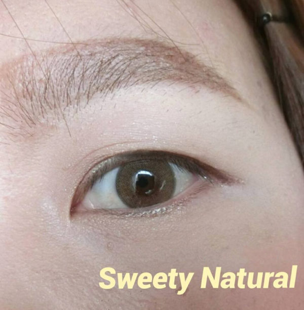 DUEBA SWEETY NATURAL LIGHT BROWN COLOR LENS