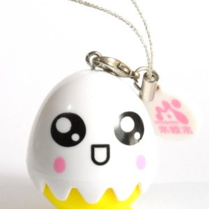 COLOR LENS CASE HAPPY FACE EGG MOBILE PHONE ORNAMENT