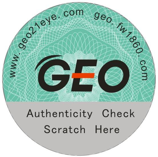 GEO PUFFY 3 TONE GREY TT-305 GREY COLOR LENS