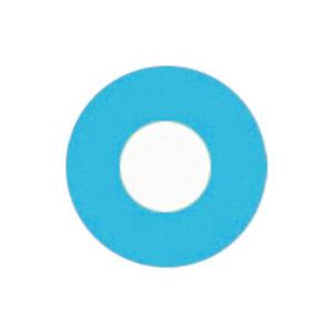 GEO CRAZY LENS CP-F5 BLUE HALLOWEEN COLOR LENS