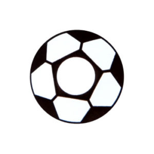 GEO CRAZY LENS SF-07 SOCCER FOOTBALL HALLOWEEN COLOR LENS