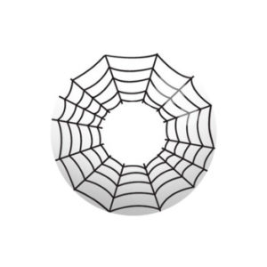 GEO CRAZY LENS SF-50 COBWEB HALLOWEEN COLOR LENS