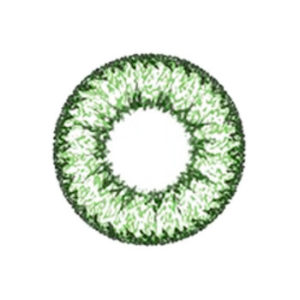 GEO NUDY CELEB GREEN CH-623 MOST POPULAR CLEAR CIRCLE LENSES