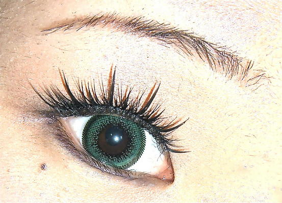 GEO WING GREEN OL-103 GREEN COLOR LENS