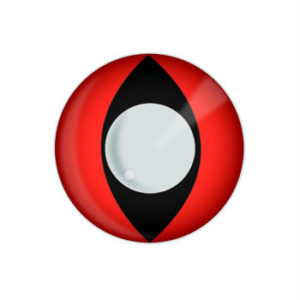 GEO CRAZY LENS SF-R05 RED HALLOWEEN COLOR LENS