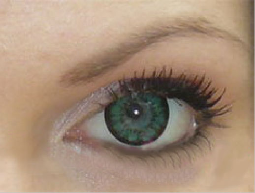 GEO SUPER SIZE ANGEL GREEN XCM-213 GREEN COLOR LENS