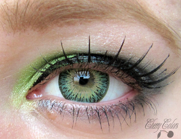 GEO TWINS GREEN YH-303 GREEN COLOR LENS