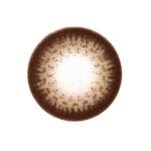 GEOLICA CIRCLE DARK BROWN GO-A24 BROWN COLOR LENS