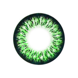 MIMI ASH EMOTION GREEN COLOR LENS