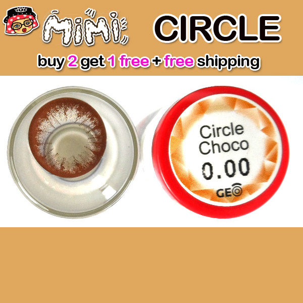 MIMI CIRCLE CHOCO COLOR LENS 14.5MM