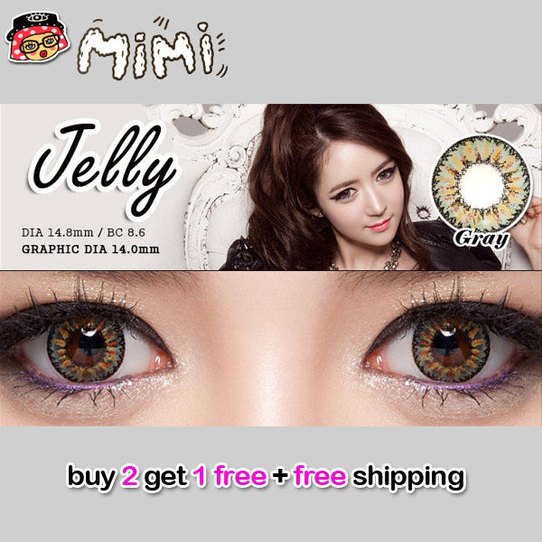 MIMI JELLY GREY COLOR LENS
