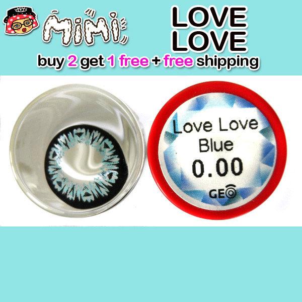 MIMI LOVE LOVE BLUE COLOR LENS