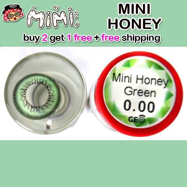 MIMI HONEY GREEN COLOR LENS