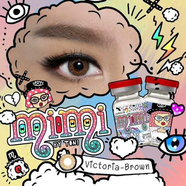 MIMI VICTORIA BROWN COLOR LENS