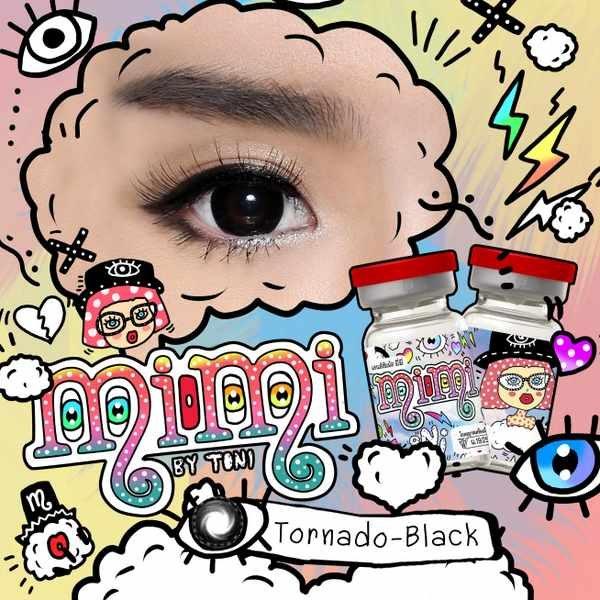 MIMI TORNADO BLACK COLOR LENS