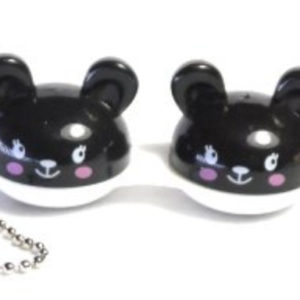 Contact Lens Case Keychain Mouse