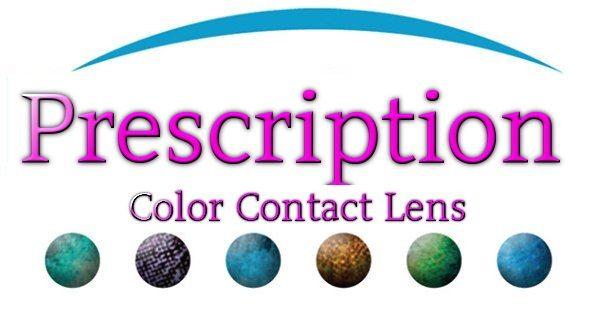 Prescription Color Lens
