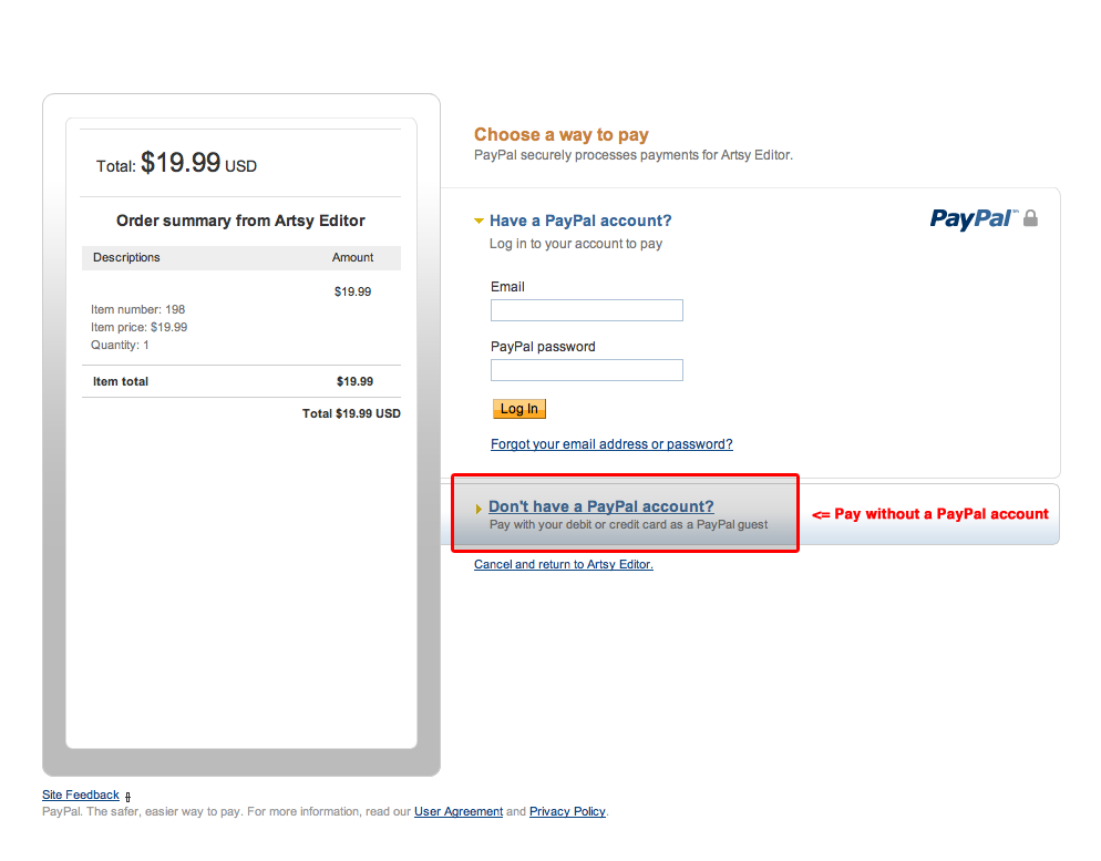 how to delete account in paypal