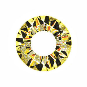VASSEN DIAMOND 3 TONE GOLD COLOR LENS