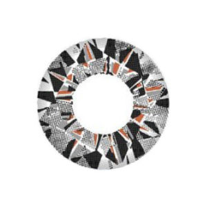 VASSEN DIAMOND 3 TONE GREY COLOR LENS